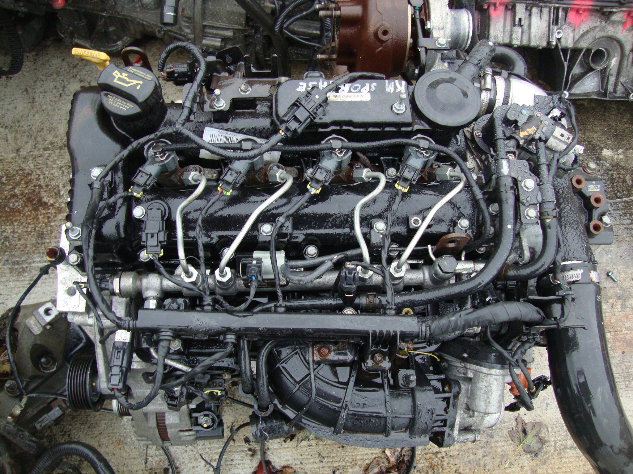 engine from car